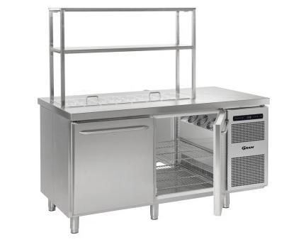 Gram GASTRO koelwerkbank RVS (08 K 1808 D CSG)